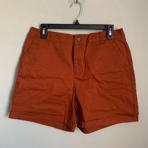 Rusty Orange Shorts